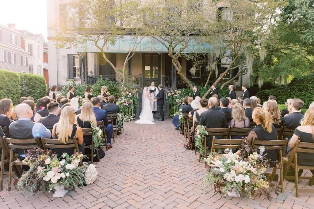 real wedding in savannah