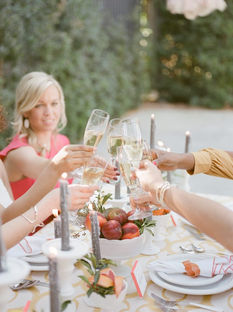 Bachelorette Party Champagne Toast