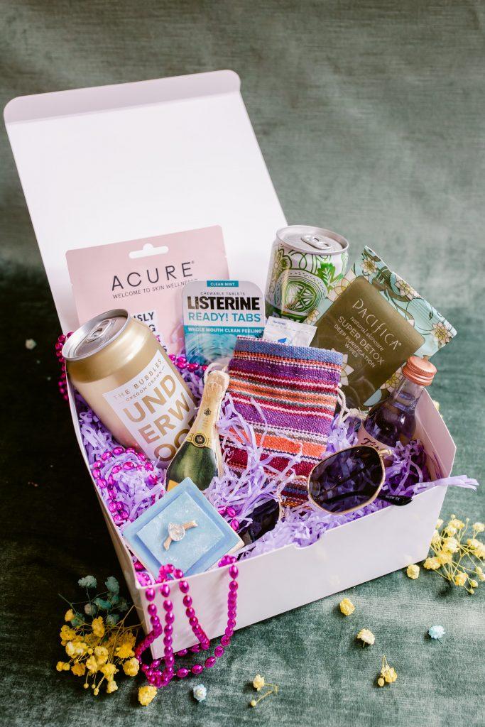Bachelorette party gift box