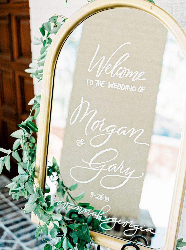 savannah-wedding-signage